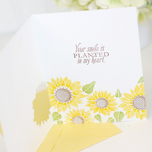 Fresh Floral Inside Out Cards