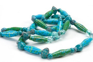 necklace amandaformaro beads mardi crafts by gras amanda tape duct img