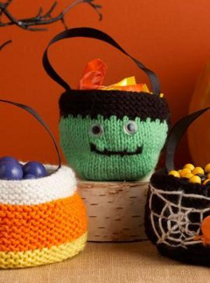 Spooky Treat Bags Allfreeknitting
