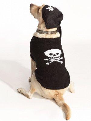 Pirate Dog Sweater Allfreeknitting Com