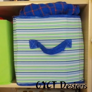 Cheap Fabric Box Tutorial