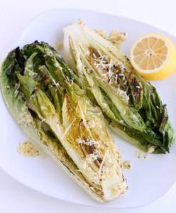 Grilled Caesar Romaine Hearts