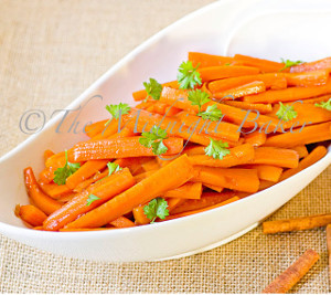 Homemade Candied Carrot Stix