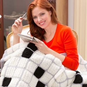 whats a seven letter word for the best craft around crochet of course any crossword fan would adore this crossword puzzle throw
