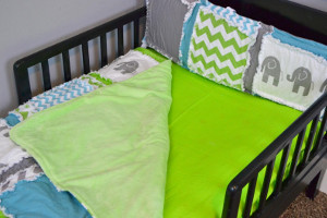 How to Add Minky to a Baby Blanket
