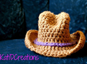 Unforgettable Newborn Cowboy Hat