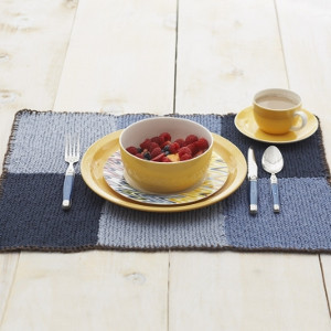 Blue Blocks Placemat