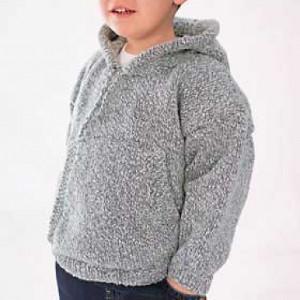 Cool Kid Hoodie | AllFreeKnitting.com