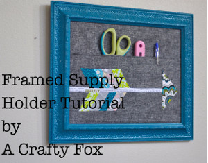 Framed Office Supply Holder