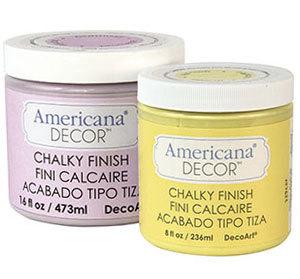 DecoArt Americana Decor Chalky Finish Paint FaveCraftscom