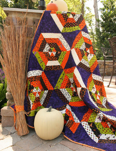 14 Halloween Quilt Patterns Free Ideas For A Wicked