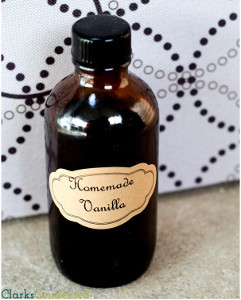 Easy Homemade Vanilla