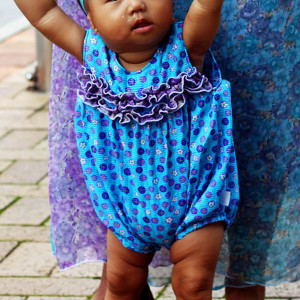 Bright Baby Romper Pattern