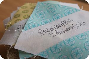 Your Signature Quilt Block | FaveQuilts.com : signature quilts - Adamdwight.com