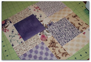 Easy Disappearing Nine Patch Quilt Block