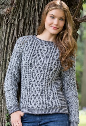 Timeless Cabled Sweater Allfreeknitting
