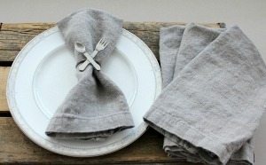 Double Trouble Linen Napkins