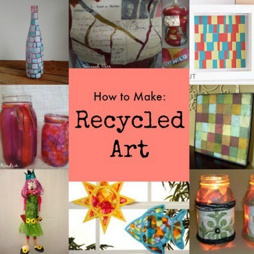 12 Recycled Art Projects For Everyone Favecrafts Com