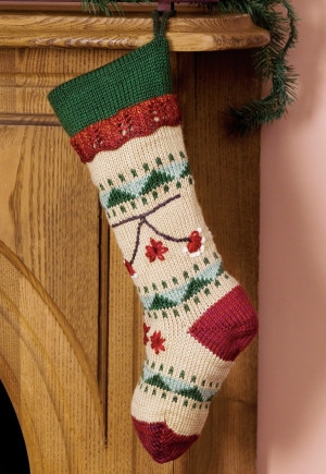 Folkways Christmas Stocking Allfreeknitting Com