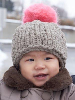 Cute And Cozy Baby Hat Allfreeknitting Com