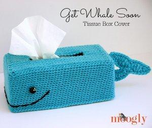 Baby Beluga Tissue Box Cover Allfreecrochet Com