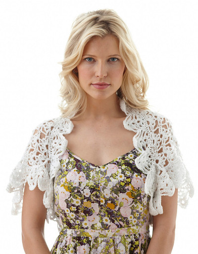 Light and Lacy Bridal Shrug