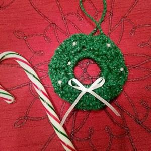 Tiny Tim Christmas Wreath Ornament Allfreecrochet Com