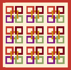 Celtic Squares Yardage Variations