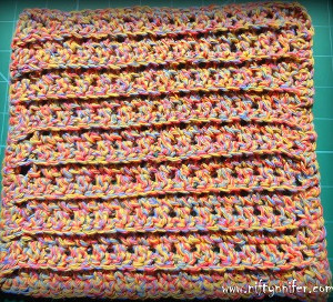 Twisted Melon Wash Cloth