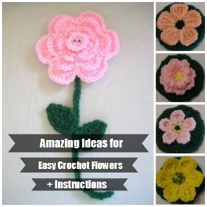 40 crochet flower patterns and what to do with them mollie makes.