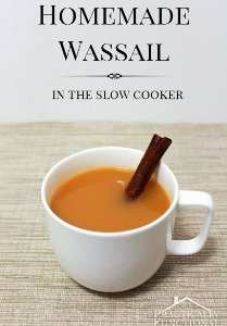 Homemade Wassail in the Slow Cooker