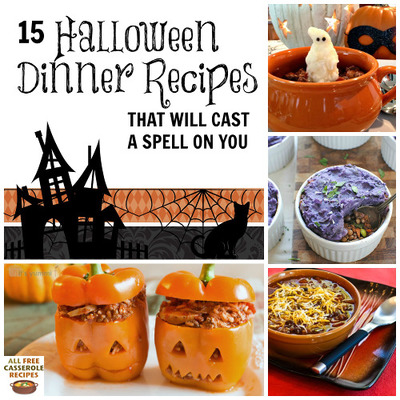15 Halloween Dinner Recipes that Will Cast a Spell on You ...