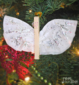 Clothespin Angel Ornaments