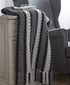 Arrowhead Crochet Afghan Allfreecrochetafghanpatterns Com