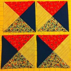 Simple Quarter Square Triangle Quilt Blocks Favequilts Com