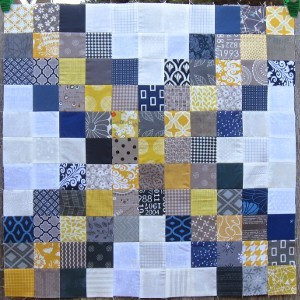 X Marks the Spot Quilt Block