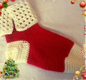 Tunisian crochet how to 38 tunisian crochet patterns tunisian christmas stocking fandeluxe Gallery