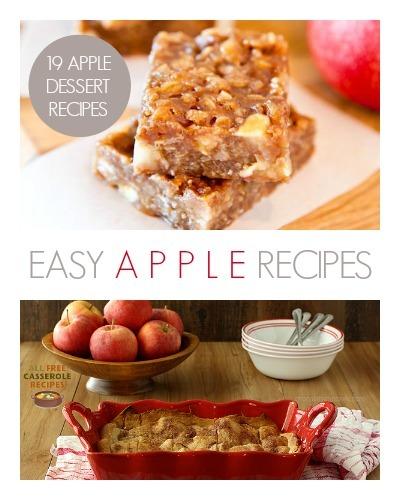 Easy Dessert Recipes: 19 Apple Dessert Recipes