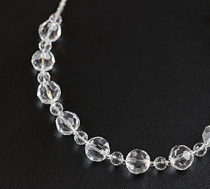 I Do Countdown Crystal Ball Necklace