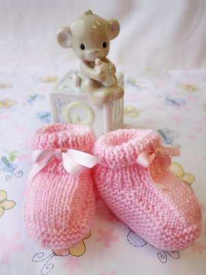 Candy Shoppe Baby Booties