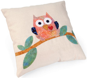 Whoo's Looking At Me Pillow