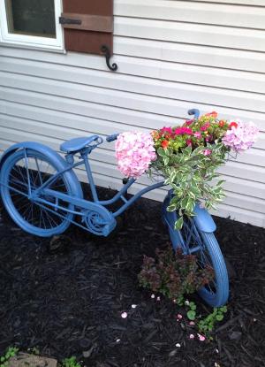 Diy Bike Planter Garden Craft Favecrafts Com