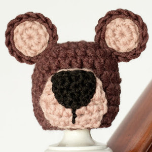 Teddy Bear Crochet Baby Hat