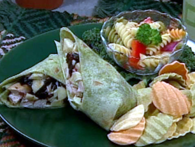 California Chicken Salad Wraps