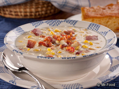 Old-Fashioned Corn Chowder