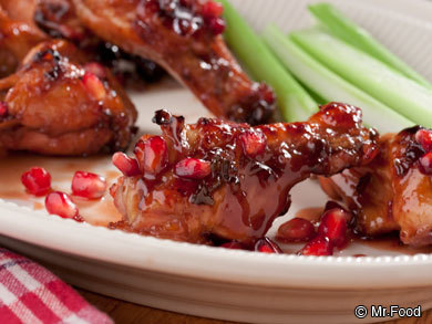 Sticky Red Wings