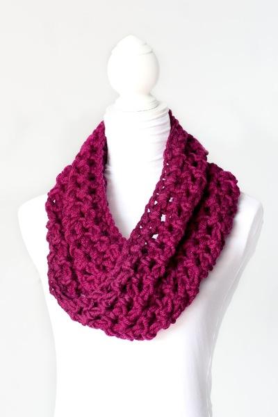 Chunky Crochet Cowl Allfreecrochet