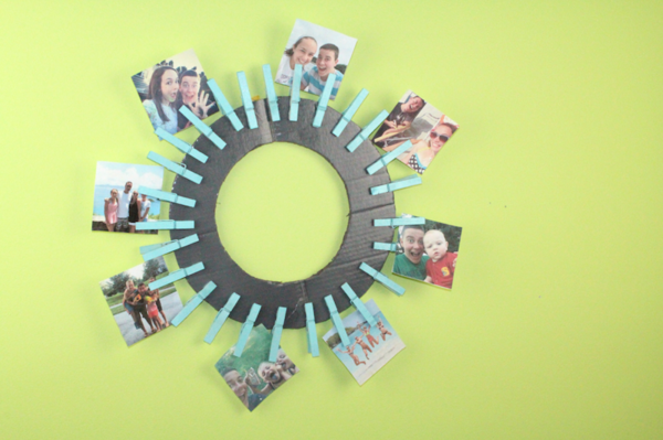 Instagram Picture Wreath