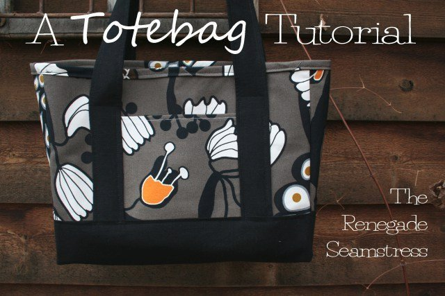 Renegade Tote Bag Pattern | AllFreeSewing.com