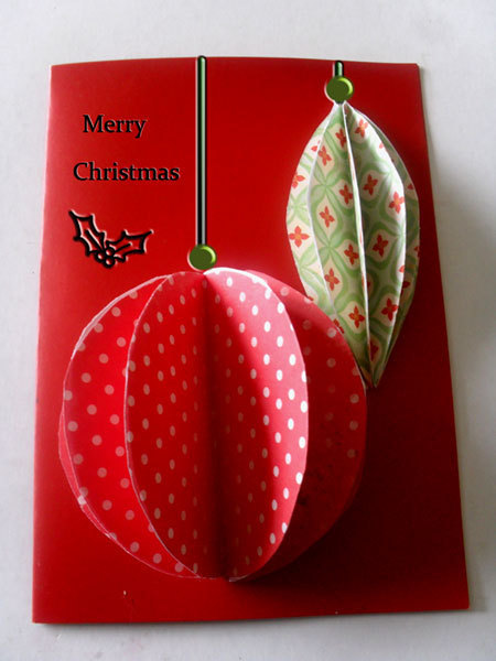 3 Dimensional Christmas Cards